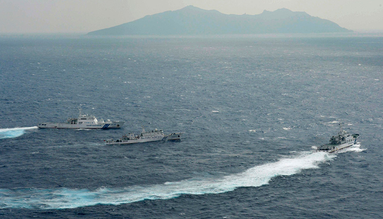 Chinese Patrol Ships Have Been In The Area Of The Disputed Senkaku Islands For A Record-Long Time