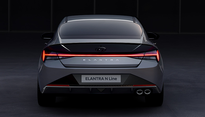 Hyundai Revealed The Appearance Of The 2021 Sports Elantra N Line