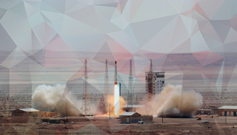 Iran Began Receiving Data From A Military Satellite Placed In Orbit