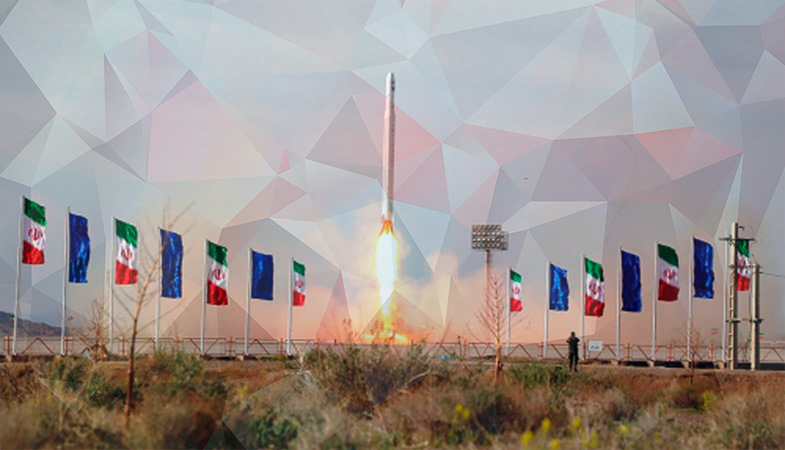 Iran Reported The Successful Launch Of The First Military Satellite