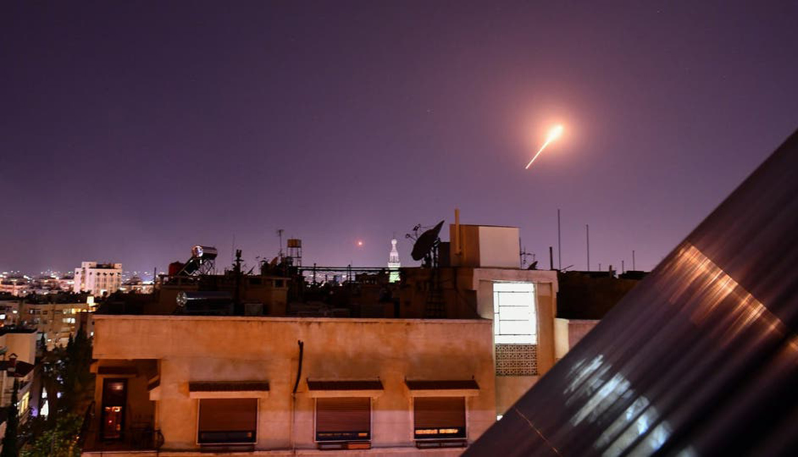 Israeli Air Force Helicopters Attacked The Southern Districts Of Damascus