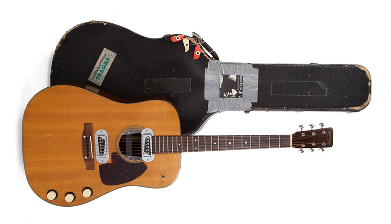 Kurt Cobain's Guitar Was Sold At Auction For A Record Price Of $6 Million