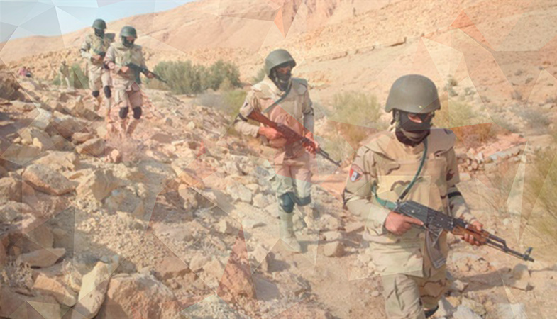 The Egyptian Army Killed Two Extremists In The Sinai Peninsula