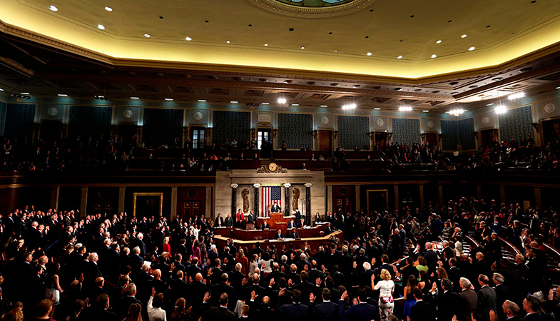 The US House Of Representatives Approved A $3 Trillion Aid Package For The Country's Economy