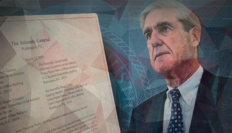 The US Justice Department Intends To Appeal The Court's Decision On The Closed Materials Of The Mueller Report