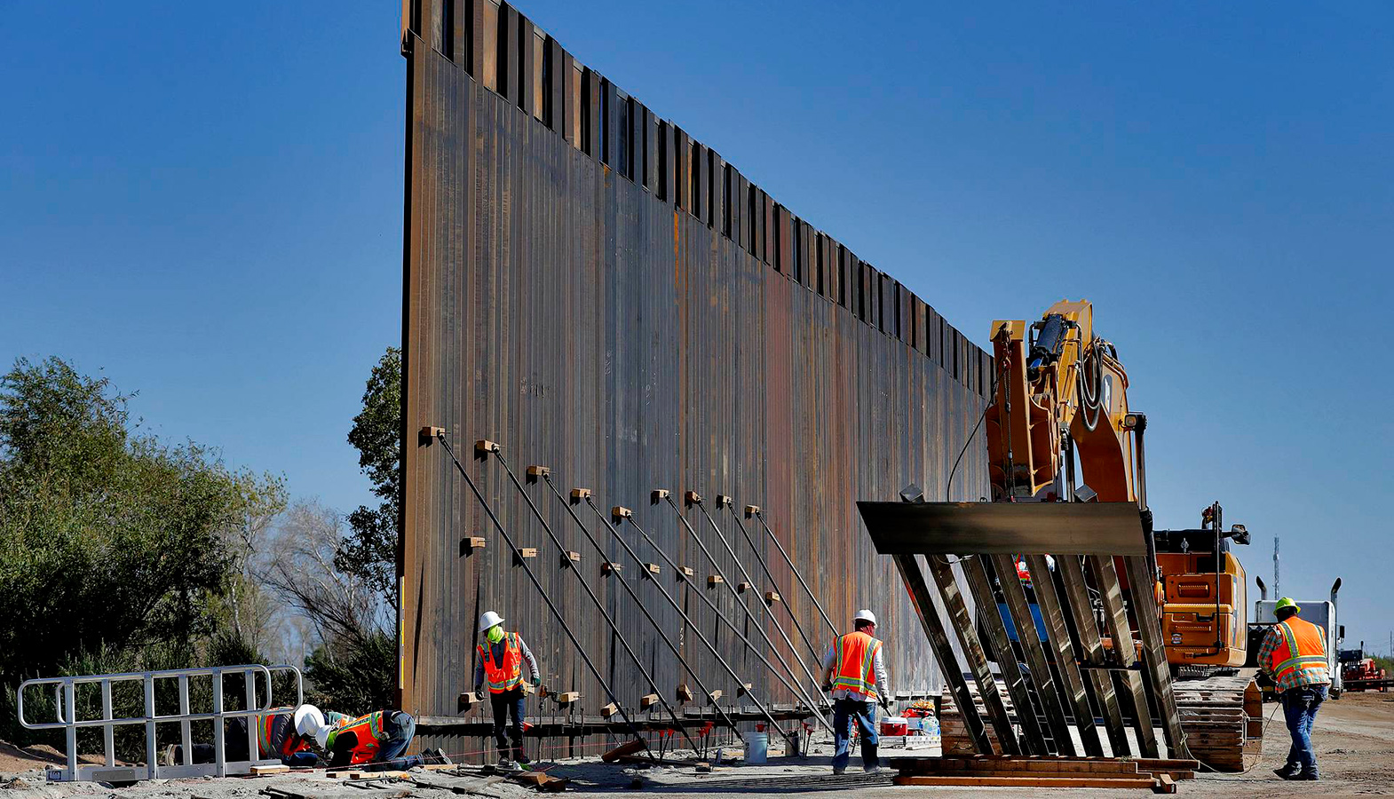 The US Supreme Court Allowed The Construction Of The Wall On The Border With Mexico To Continue