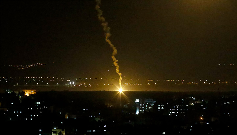 Two Rockets Fired From The Gaza Strip At Israeli Territory