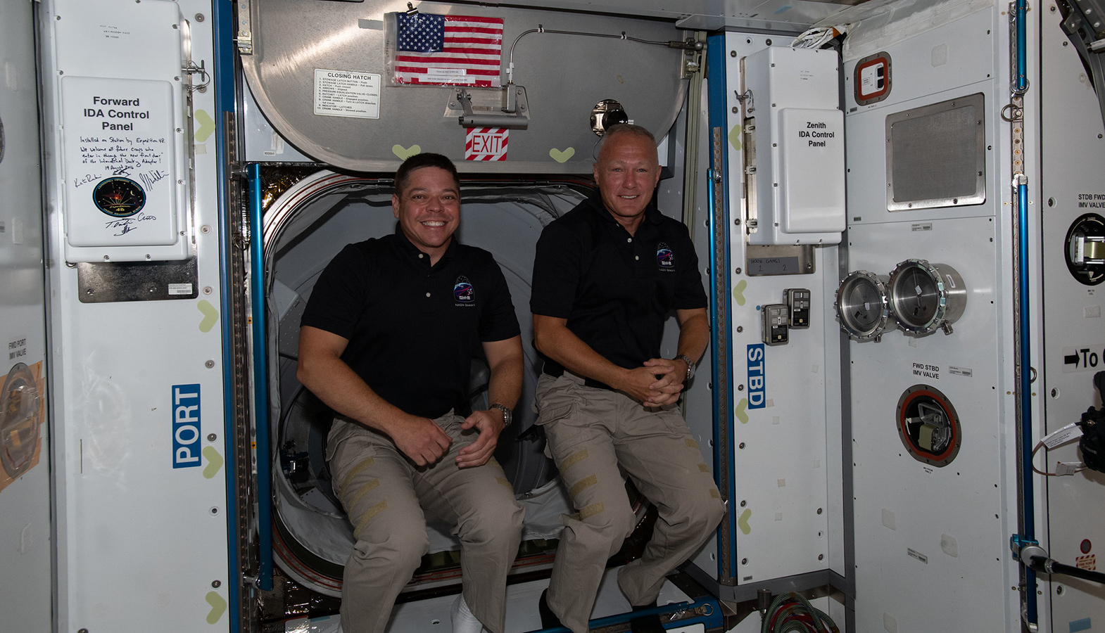 Undocking Of The Crew Dragon Ship With The Crew From The ISS Is Slated For August 1