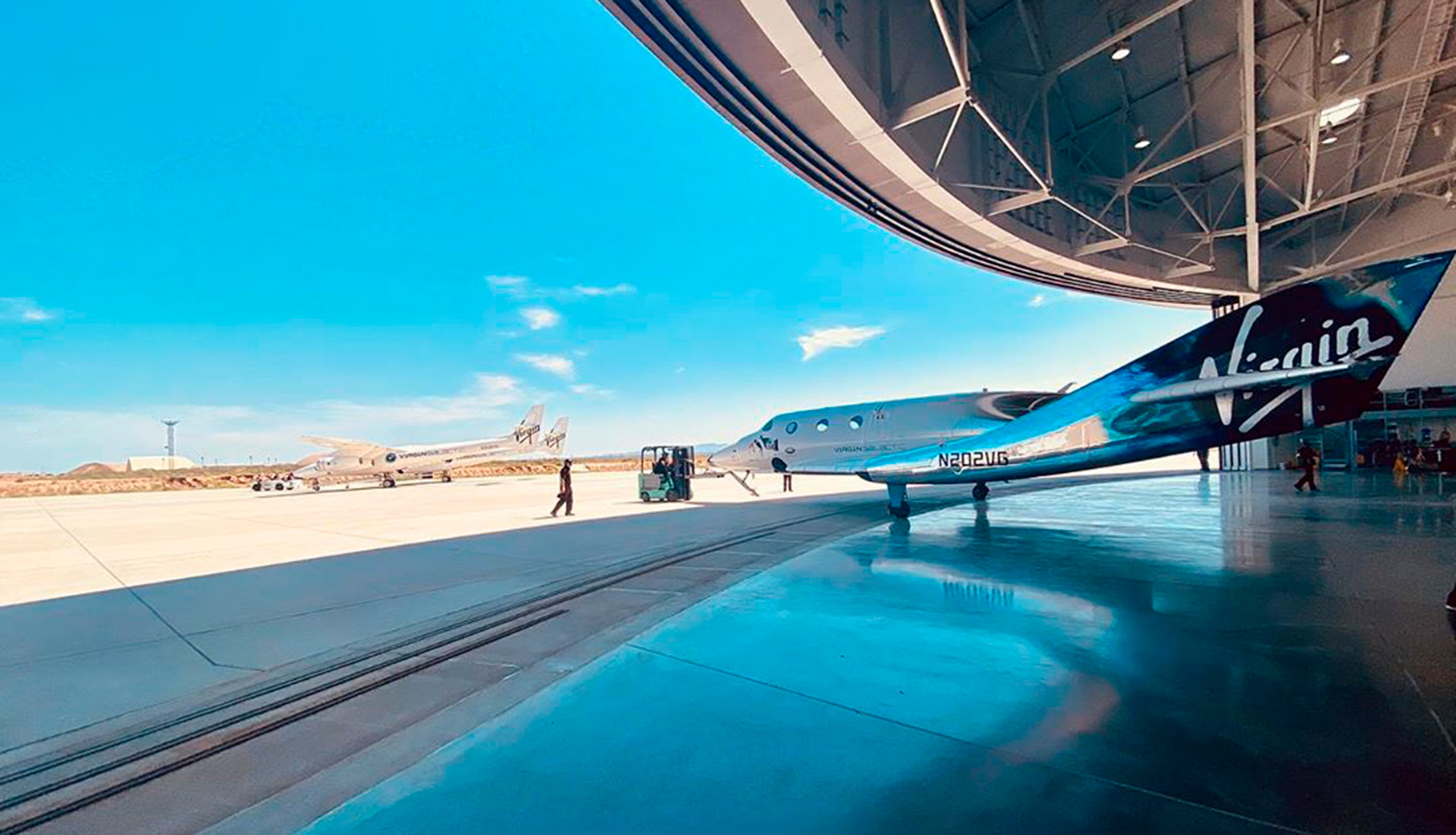Virgin Galactic Has Shown A Virtual Concept Of The Cabin Of A New Tourist Spaceship